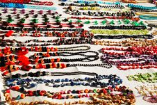Free Neck Beads Royalty Free Stock Images - 14399699