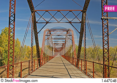 Free Covered Wagon Bridge 3 Royalty Free Stock Photos - 1447048