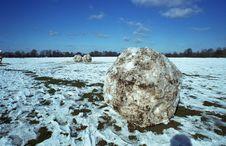 Free Giant Snowballs Stock Photo - 1441150