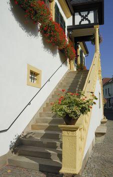 Free Deidesheim Staircase Stock Photo - 1441210