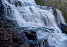 Autumn Cascades Royalty Free Stock Photos