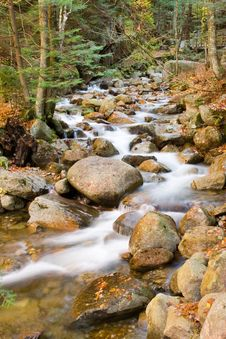 Stony River Falls Royalty Free Stock Photos
