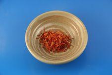 Free Saffron Royalty Free Stock Photo - 1442195