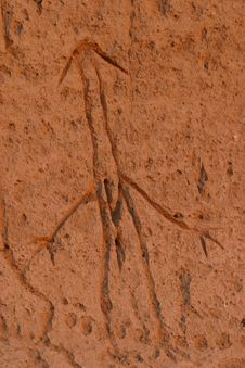 Free Lave Beds Petroglyphs Stock Photography - 1442442