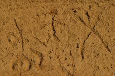 Free Lave Beds Petroglyphs Stock Image - 1442481