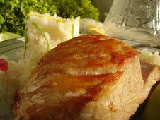 Free Pork Roast Royalty Free Stock Photography - 1443307