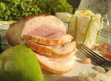 Free Pork Roast Stock Photography - 1443322