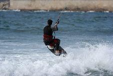 Free Kitesurfer Stock Photography - 1443822
