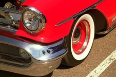 Free Classic 50s Oldsmobile Royalty Free Stock Photos - 1443908