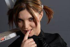 Free Schoolgirl Model Stock Images - 1444014