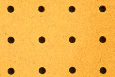 Free Blank Pegboard Close Up Royalty Free Stock Image - 1444416