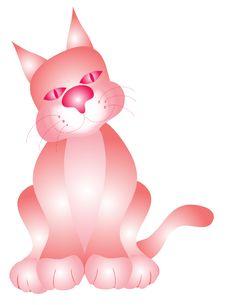 Free Pink Kitty Cat Stock Photos - 1444883