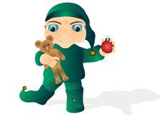 Free Happy Baby Elf Stock Image - 1444921