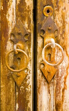 Free Age-Old Door Stock Image - 1445041