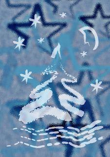 Free Christmas Greeting Card Stock Image - 1446281