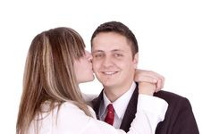 Free Happy Couple Stock Image - 1446901