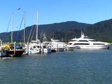 Free Docked Yachts Stock Photos - 1447893