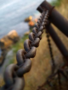 Free Rusty Chain Royalty Free Stock Photo - 1447895