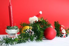 Free Christmas Decoration Royalty Free Stock Images - 1448809