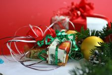 Free Christmas Presents Royalty Free Stock Images - 1448929