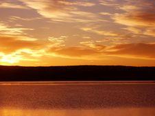 Free Orange Sunrise Royalty Free Stock Images - 1449439