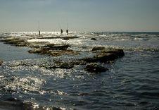 Free Ceasarea Beach Stock Image - 1449791