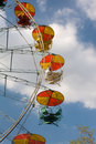 Free Old Ferris Wheel Against Blue Sky Royalty Free Stock Photos - 14408538
