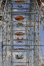 Free Old Ferris Wheel Against Blue Sky Stock Images - 14408554
