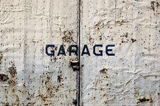 Rusted Door Stock Photography