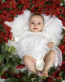 Free Angelic Baby Stock Photo - 14400560