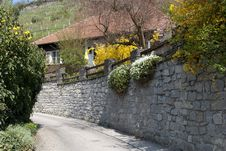 Free Rural House In Austria Stock Image - 14400951