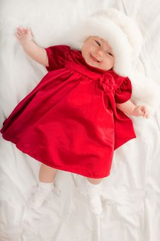 Free Baby Girl Stock Image - 14401751