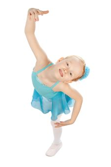 Free Little Ballerina Stock Image - 14402041