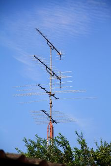 Free Antenna TV Stock Image - 14402581