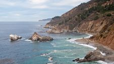 Free Colorful Coastline Of California Royalty Free Stock Image - 14402956