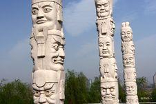 Free Stone Mask Stock Image - 14403841