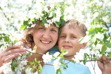 Free Beautiful Happy Mother With Her Son Stock Photos - 14404043
