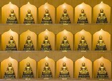 Free Bronze Buddha Statues Royalty Free Stock Image - 14404336