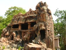 Ancient And Old Siddheshwar Cave Stock Images