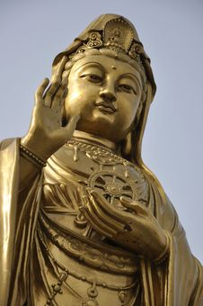 Guanyin Statue Royalty Free Stock Photo