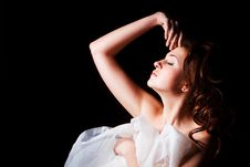 Free Beautiful Alluring Young Girl Royalty Free Stock Photos - 14405278