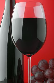 Free Red Wine And Grapes Stock Photos - 14405333