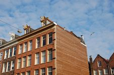 Free Dutch Building In Amsterdam Royalty Free Stock Photos - 14406768