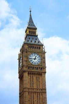Big Ben Tower In London Stock Photos
