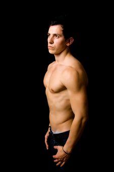 Atletic Man Body Royalty Free Stock Image