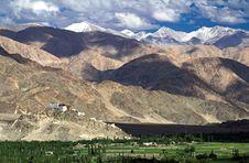 Free Thiksey Buddhist Monastery In Ladakh Stock Photography - 14408102
