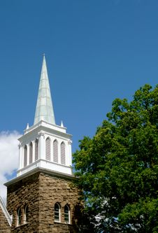 Free Church Steeple Royalty Free Stock Photo - 14408105