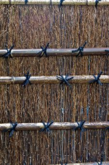 Free Bamboo Fence Royalty Free Stock Image - 14408296