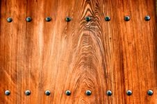 Free Wooden Temple Door Royalty Free Stock Images - 14408319