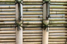 Free Bamboo Fence Royalty Free Stock Photography - 14408327